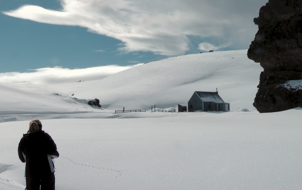 Marie and Meadow Hut