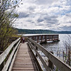 Nature Trail led to a lake!