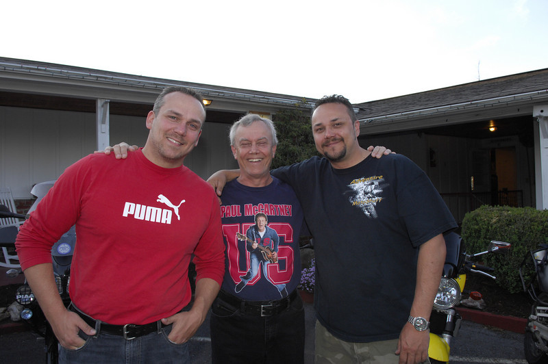 My personal favorite, Myself, my dad and my brother Matt. Family!