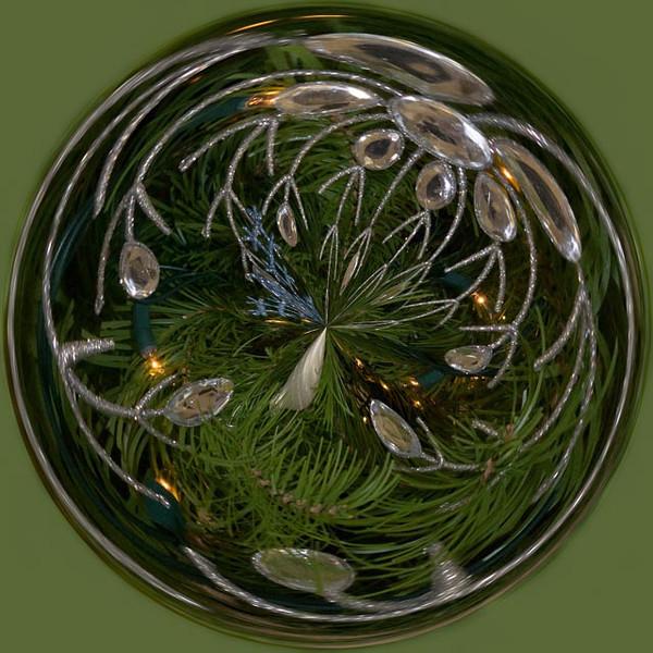 11/2013: An orb at the We Care Christmas Tree Display, Kokomo, IN