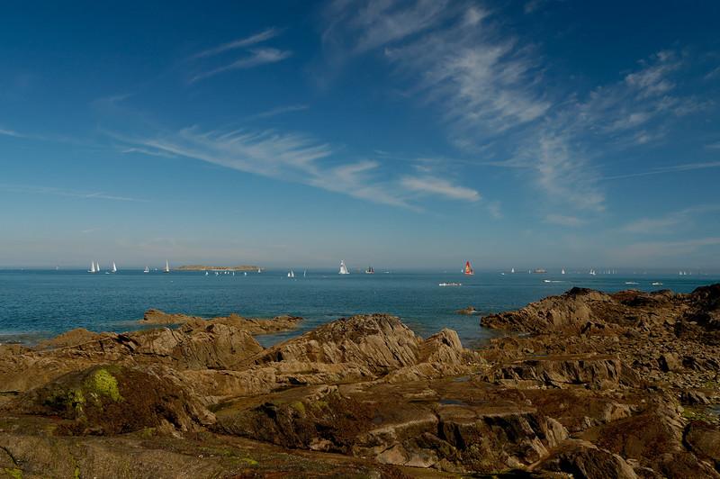 La baie de Saint-Malo par grand beau temps