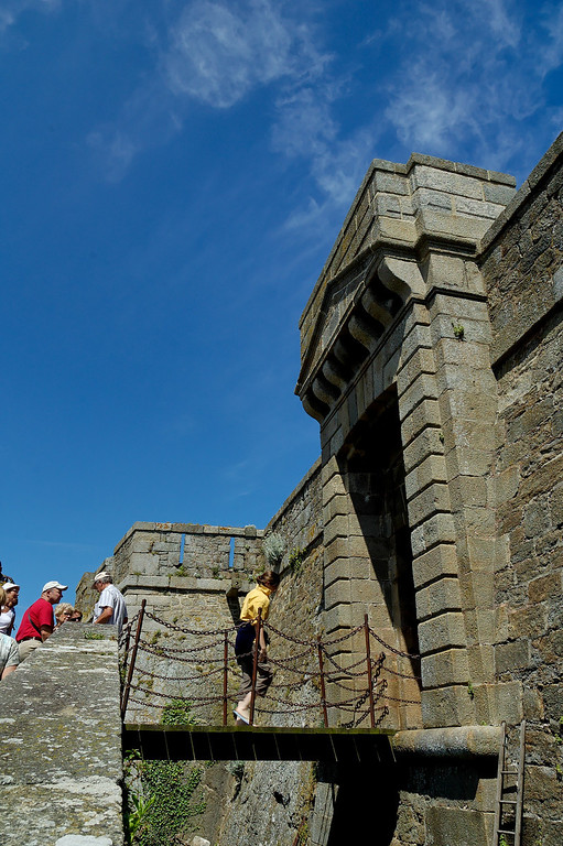 Gate of the  2nd fortification of the fort national