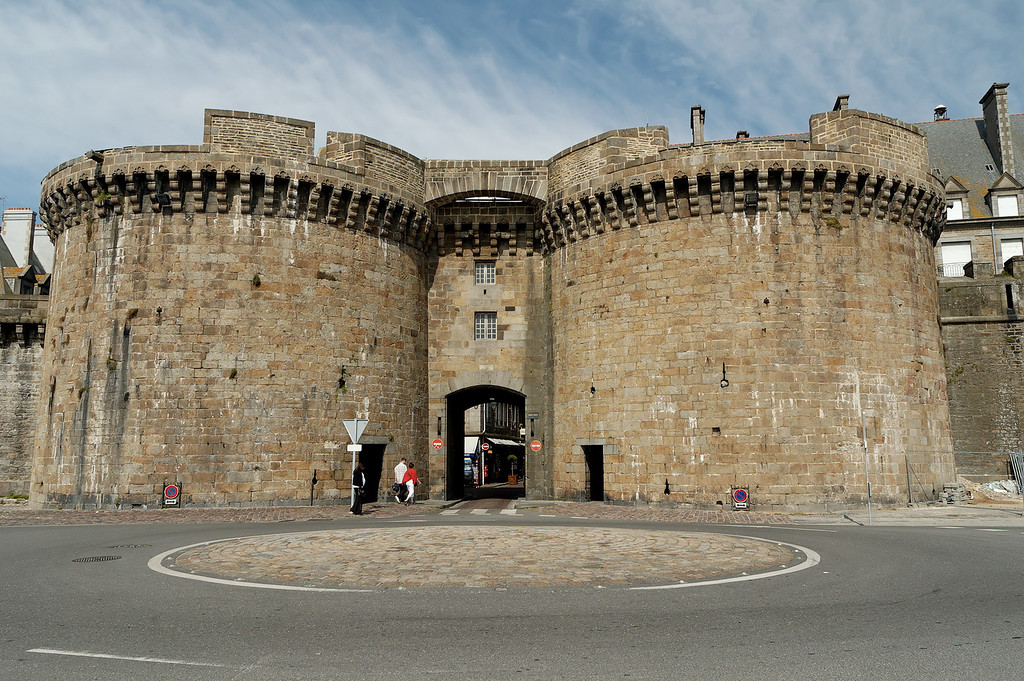 Saint-Malo's fortification (land side)