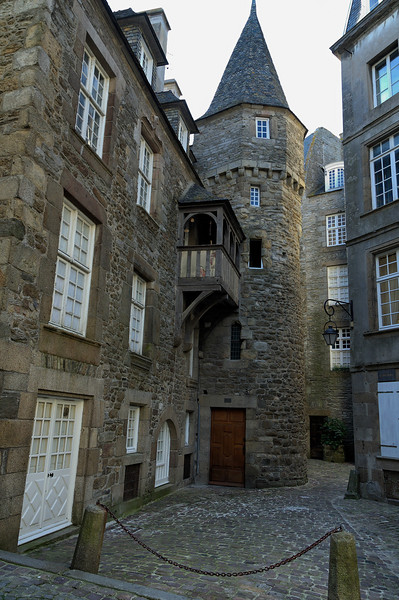 Inside Saint-Malo