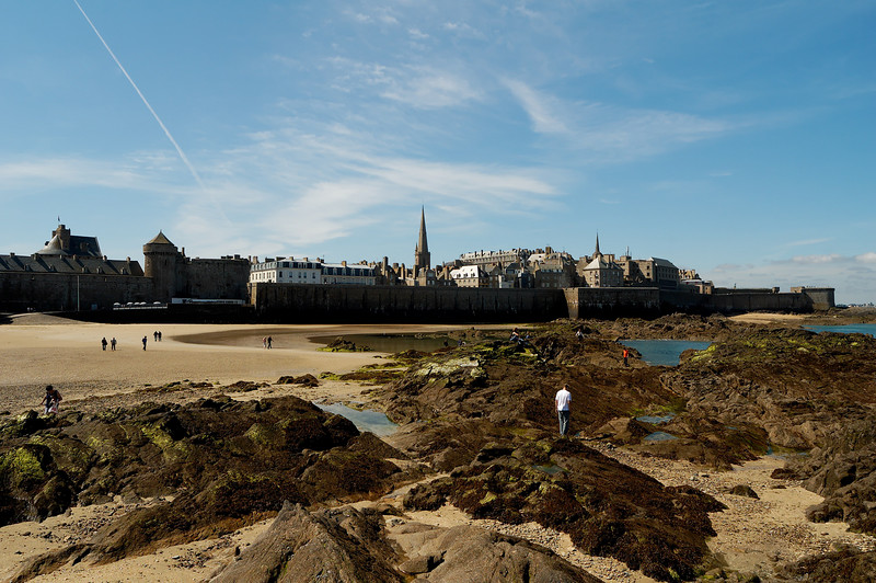Saint malo depuis le grand be