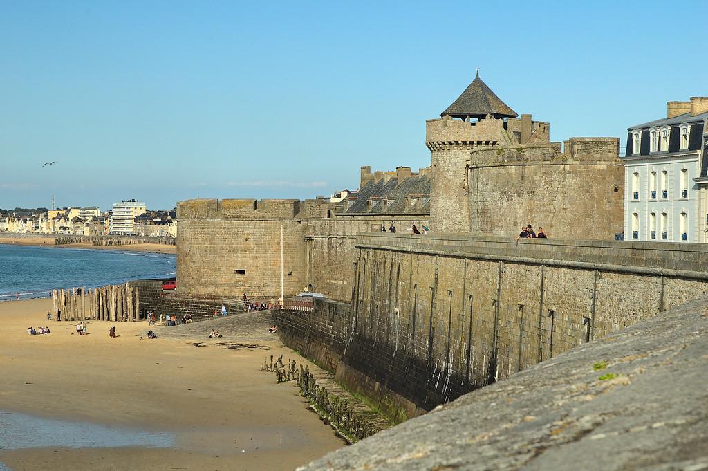 Les fortifications de Saint-Malo