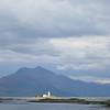 June 2013. Isleornsay lighthouse, Isle of Skye, Scotland.