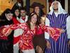 The HALLOWEEN TEAM!!  YEAH!  we all look so so so so good!
