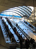 Stairways to Heaven at Canary Wharf station