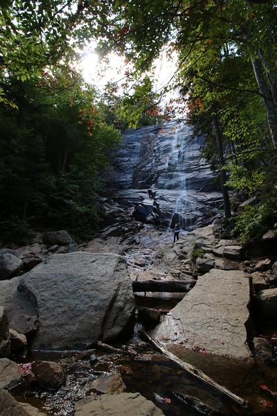 New Hampshire 2014 - Cascade Brook Trail Hike 030