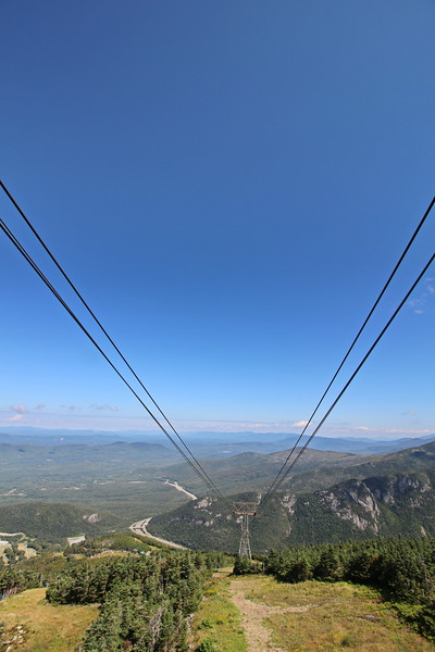 New Hampshire 2014 - Tram Ride Up Cannon Mountain 011