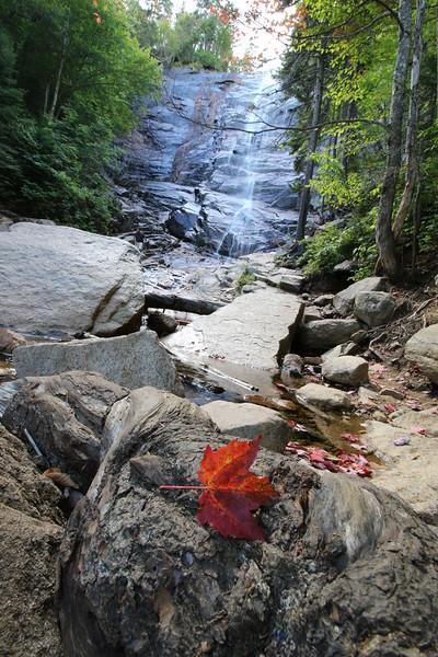 New Hampshire 2014 - Cascade Brook Trail Hike 038
