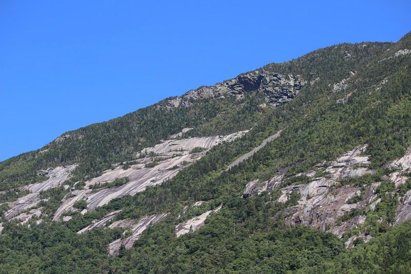 New Hampshire 2014 - Cascade Brook Trail Hike 004