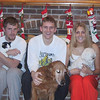 Jacob with Wally, Jared with Charlie, and Katelyn with Snuggles