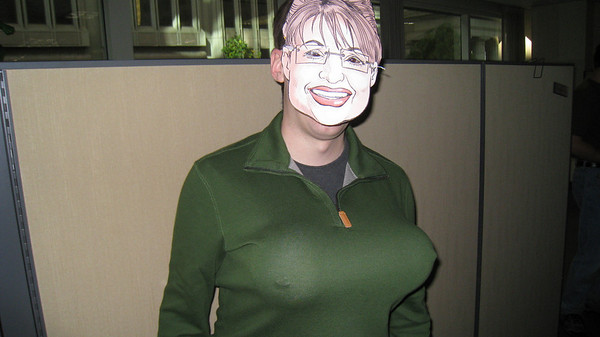 Brandon as Sarah Palin