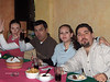 Mel, Mike, Paty and Ruben at X-mas lunch