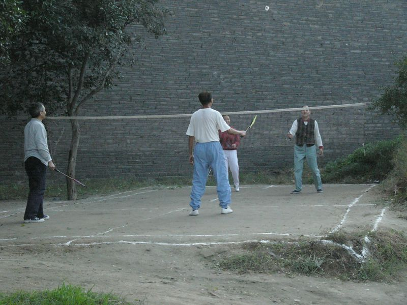 20051016_1614 Badminton by the West Wall