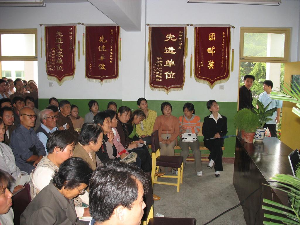 20060907_1278 Mashuang Hospital Listening attentively...