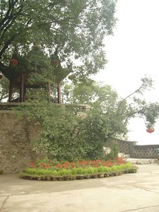 04Oct05_1516 ChangNingGong is a tourist resort south of Xi'an. I attended a short conference there during the October 1st holiday weekend.