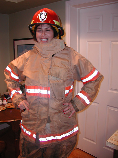 Fireman Aby to the rescue!
