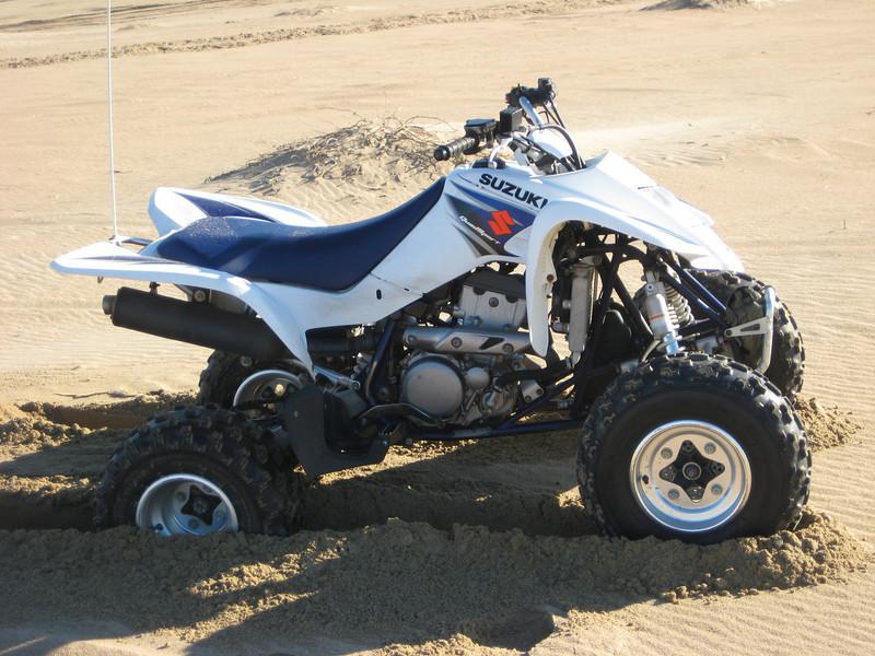 The quad Grant rented in Pismo Beach CA