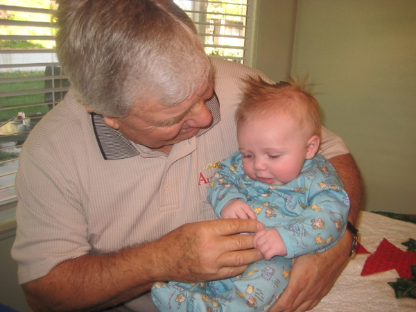Ben and Great Grandpa