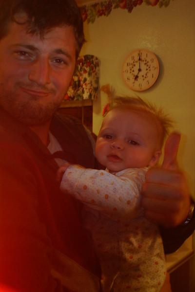 Ben with his Uncle Al