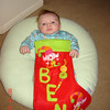 Ben in his stocking