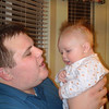 Ben chatting with his daddy
