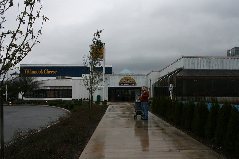 Tillamook cheese factory