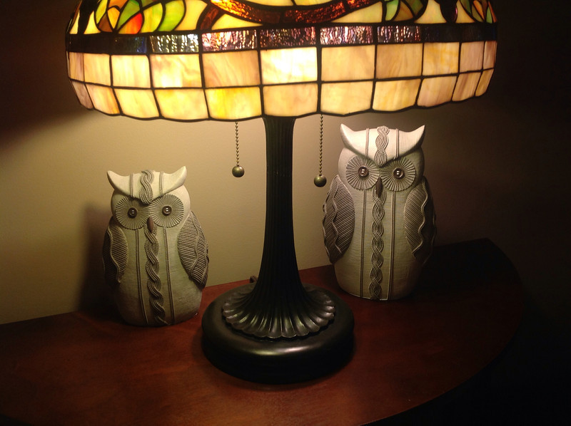 Owls - xmas gift from my sister