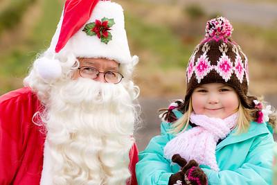 Xmas Tree & Santa 2010