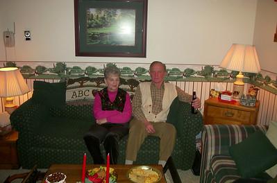 Nanny & Grandpa MacInnes - xmas 2001