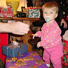 Sara and some presents 12-23-01