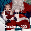 Merry Christmas from the Vails - 2001