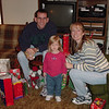 Madison, Mommy & Daddy 12-22-02