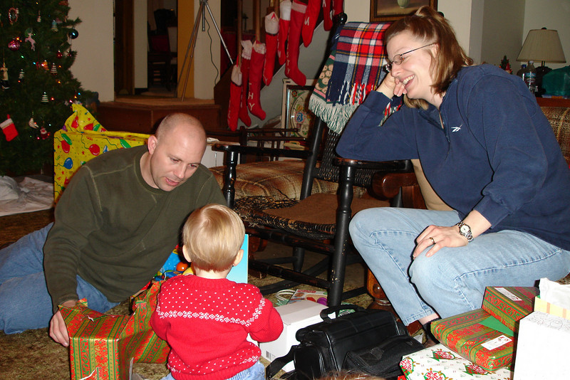 Colin opening present 12-18-04