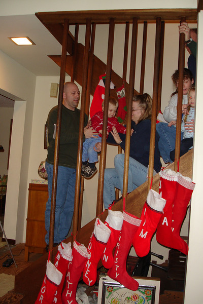 Kids staircase 12-18-04