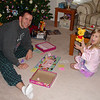 Daddy and Madison playing Princess Monopoly 2 12-25-05
