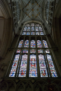 One of the Many windows inside the Minster