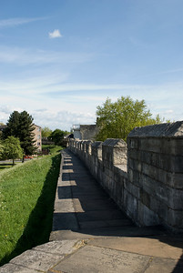 Walking on the Wall at York