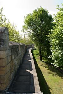 Walking around the York Wall