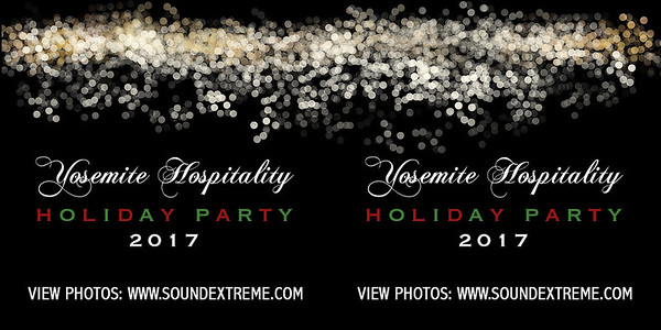 Yosemite Hospitality Holiday Party 2017
