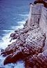 dubrovnik - city walls and sea (2)