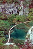 plitvice park - view down to walkway