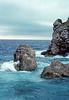 dubrovnik - waves on rocks at city walls (1)