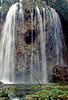 plitvice park - cave behind waterfall