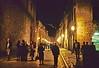 dubrovnik - main street at night
