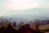 postojna region - valley near castle in cave