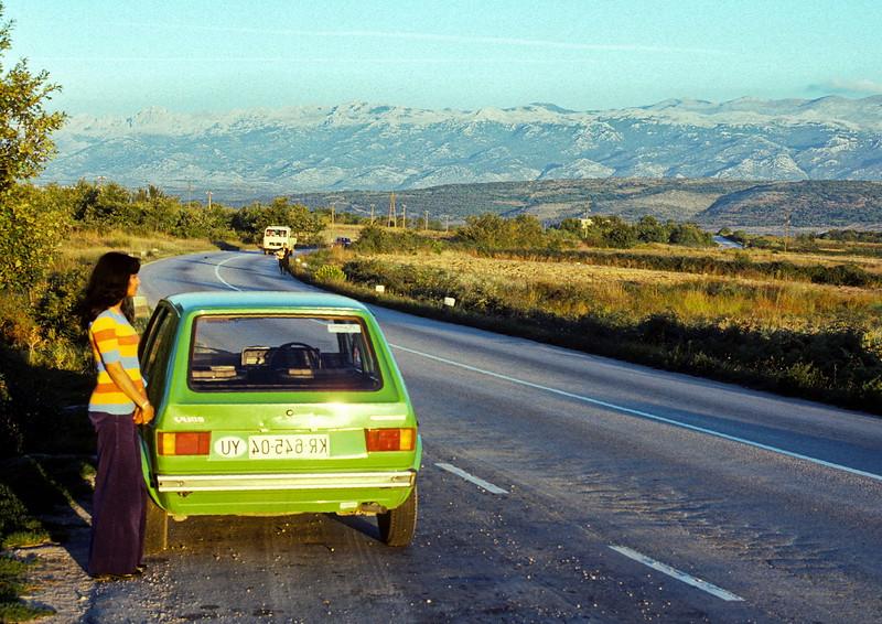 split - veena and rental car